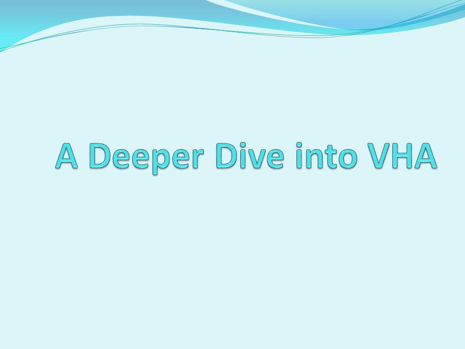 A Deeper Dive into VHA