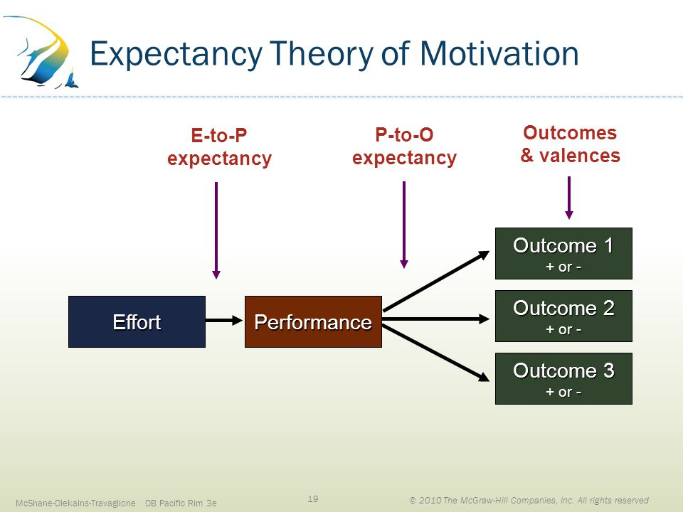 expectant theory of motivation In this paper the focus will be on the expectancy theory of motivation which was propounded by expectancy explains the subjective probability of the effort.