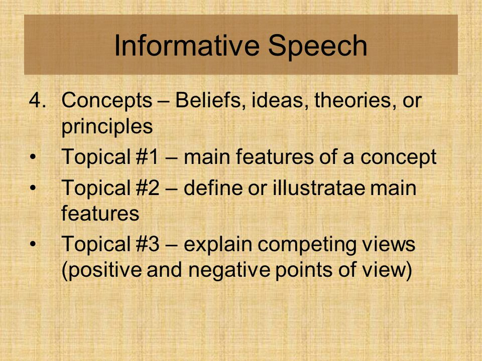 A List of Informative Speech Topics: Pick Only Awesome Ideas!