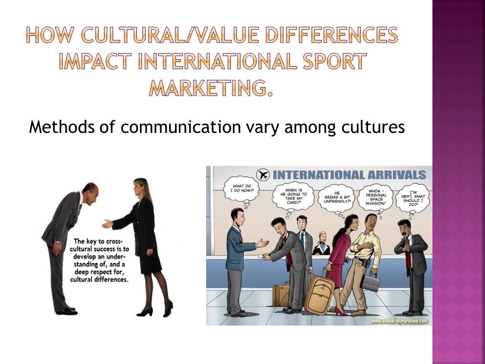 cultural differences in international marketing Global marketing advertising with cultural differences  of international marketing  how can global companies better address cultural differences in marketing.