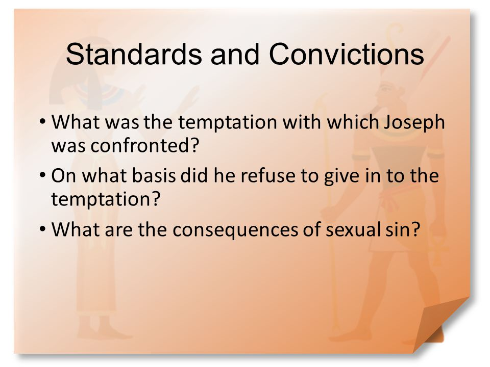 Standards and Convictions