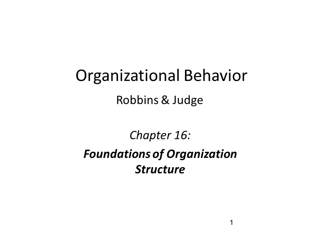 organizational behavior robbins judge View test prep - test-bank-for-organizational-behavior-15th-edition-by-robbins from supv 232 at city college of san francisco full file at.