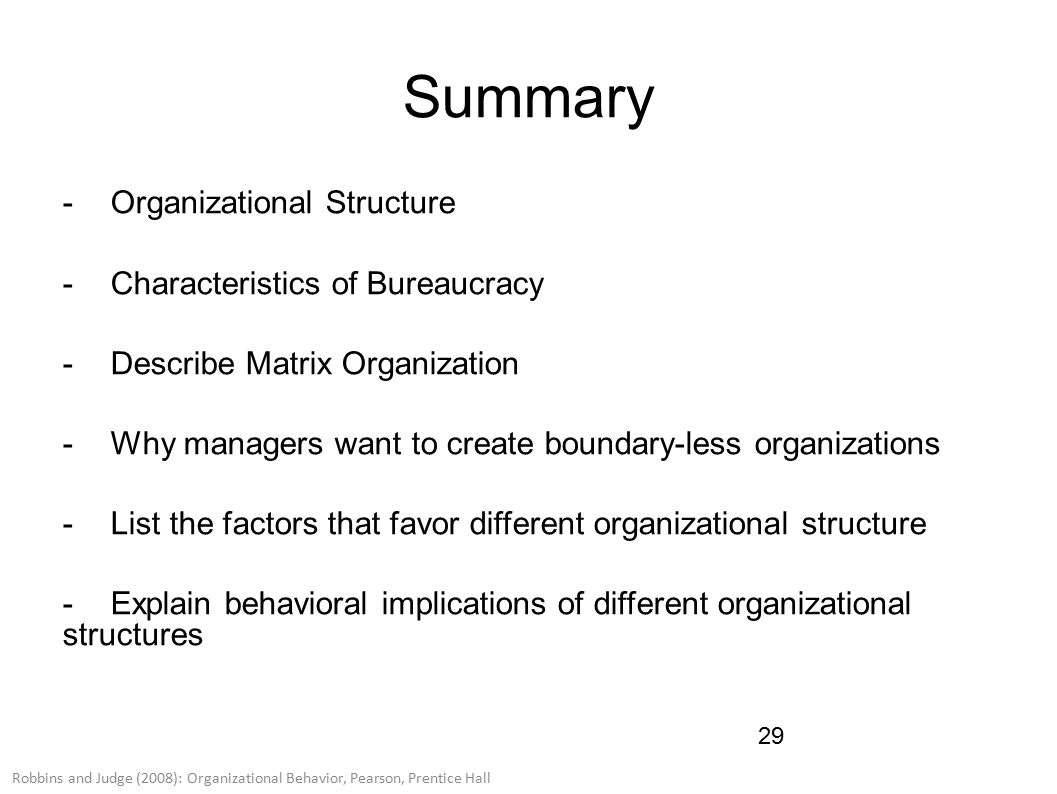 behavioral implications of different organizational designs Session 2: foundations of organizational structure  session 2: foundations of organizational  analyze the behavioral implications of different organizational.
