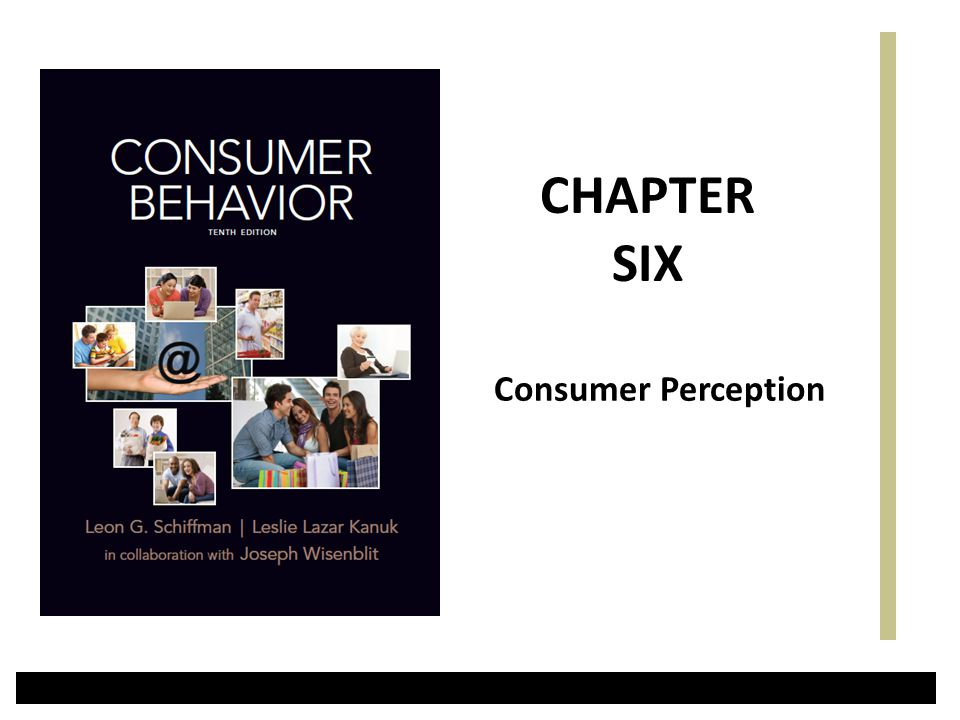 CHAPTER SIX Consumer Perception