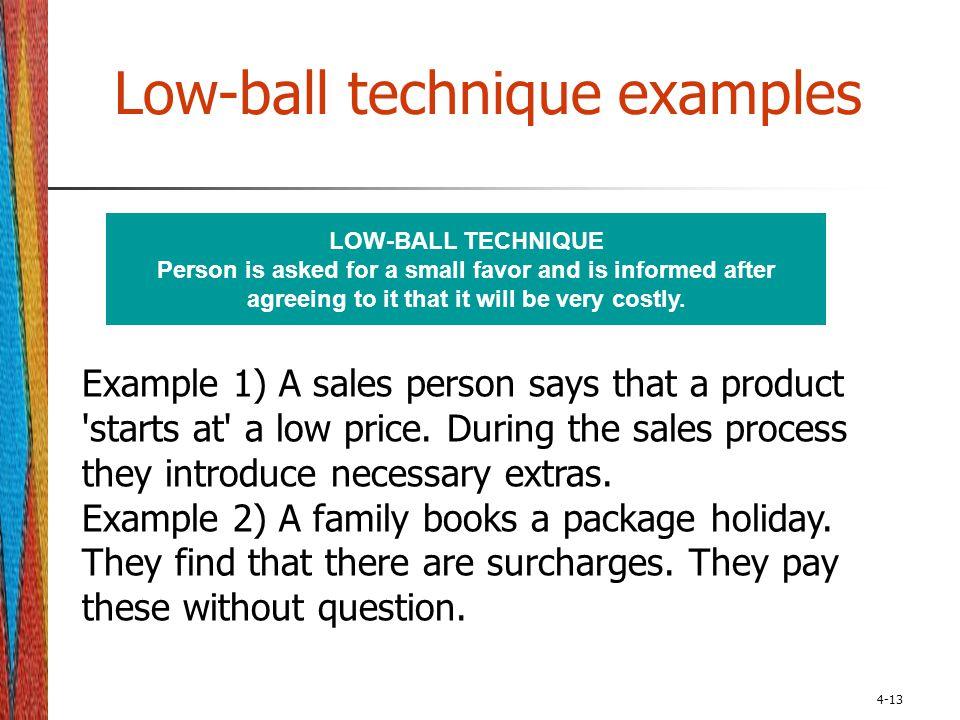 lowball psychology