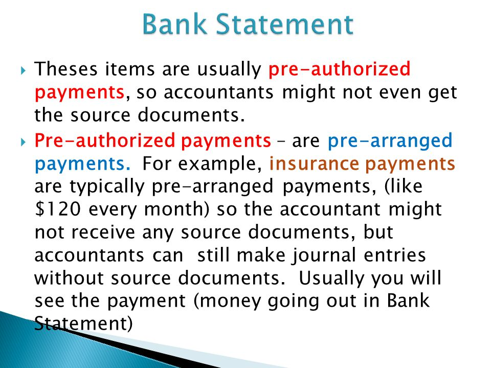 the journal and source documents ppt video online  5 bank statement theses