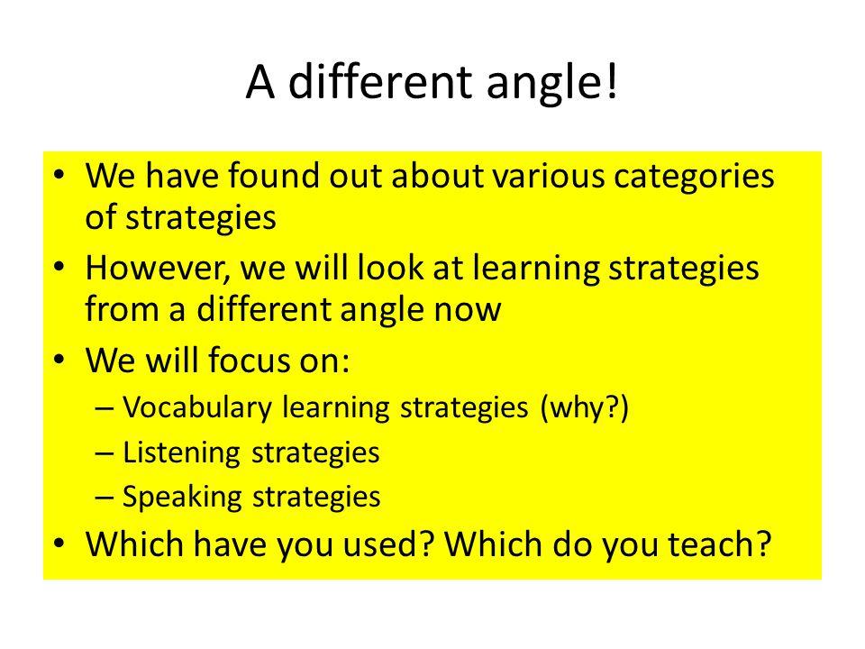 listening and speaking strategies pdf