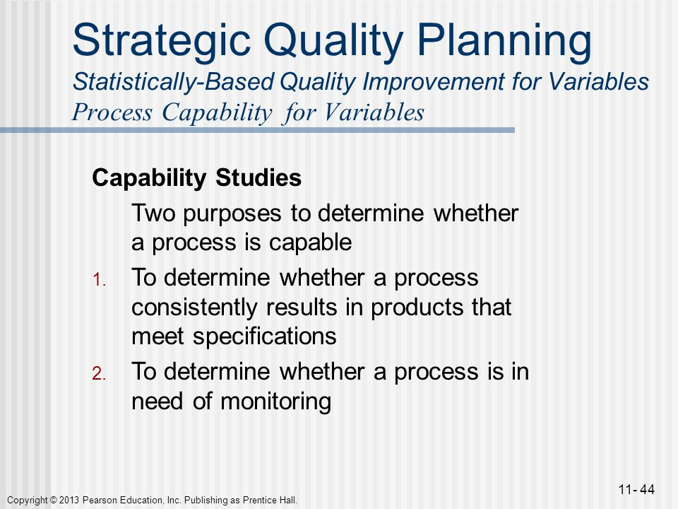 strategic quality planning Strategic quality planning, corporate quality culture, total continuous learning,  employees management, customer management, resource and.