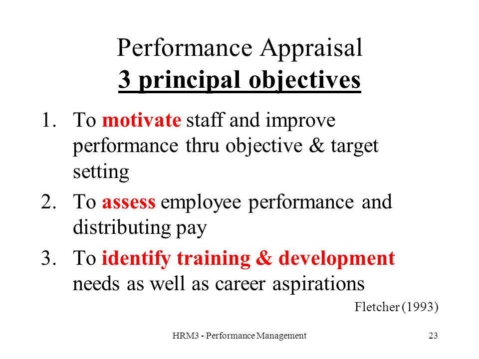 performance appraisal and career development Performance evaluation and level of involvement in professional development an employee's new responsibilities or future career.