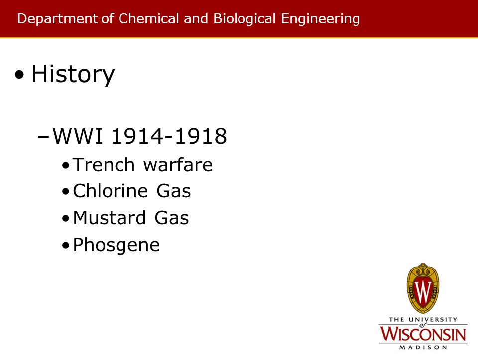 a history of biological and chemical warfare History of secret human experimentation a history of over 50 years of secret experiments conducted on unsuspecting biological warfare chemical warfare.