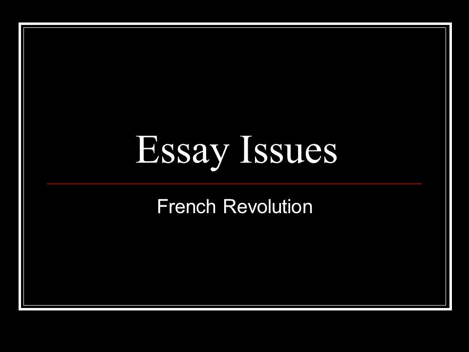 french revolution essay introduction American revolution vs french revolution essays the french revolution was one of the most significant turning points in french history  american revolution vs.