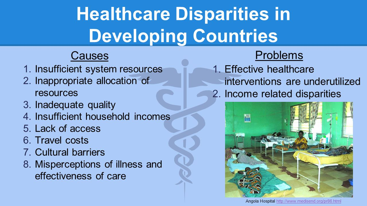 healthcare in developing countries Focussing on basic health treatments in the developing world is supported by givewell, the global priorities project, the copenhagen consensus in addition to that the bill and melinda gates foundation with which we share many values, spends most of its money on this cause our recommendation is a.