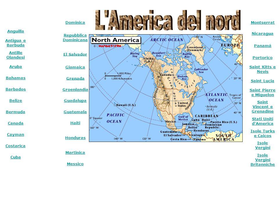 L America del nord Dominica Repubblica Dominicana El Salvador Giamaica