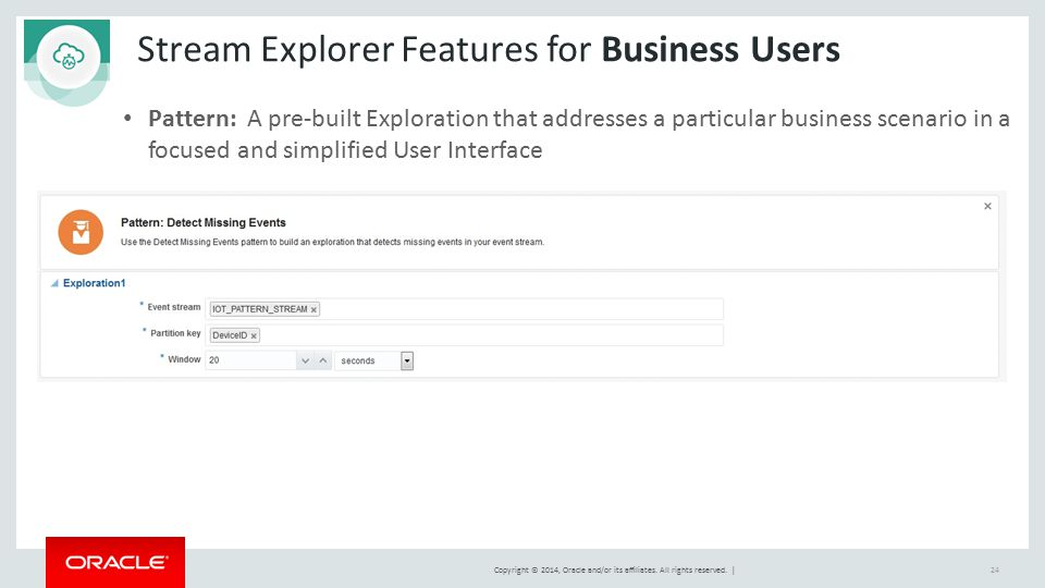 Stream Explorer Features for Business Users