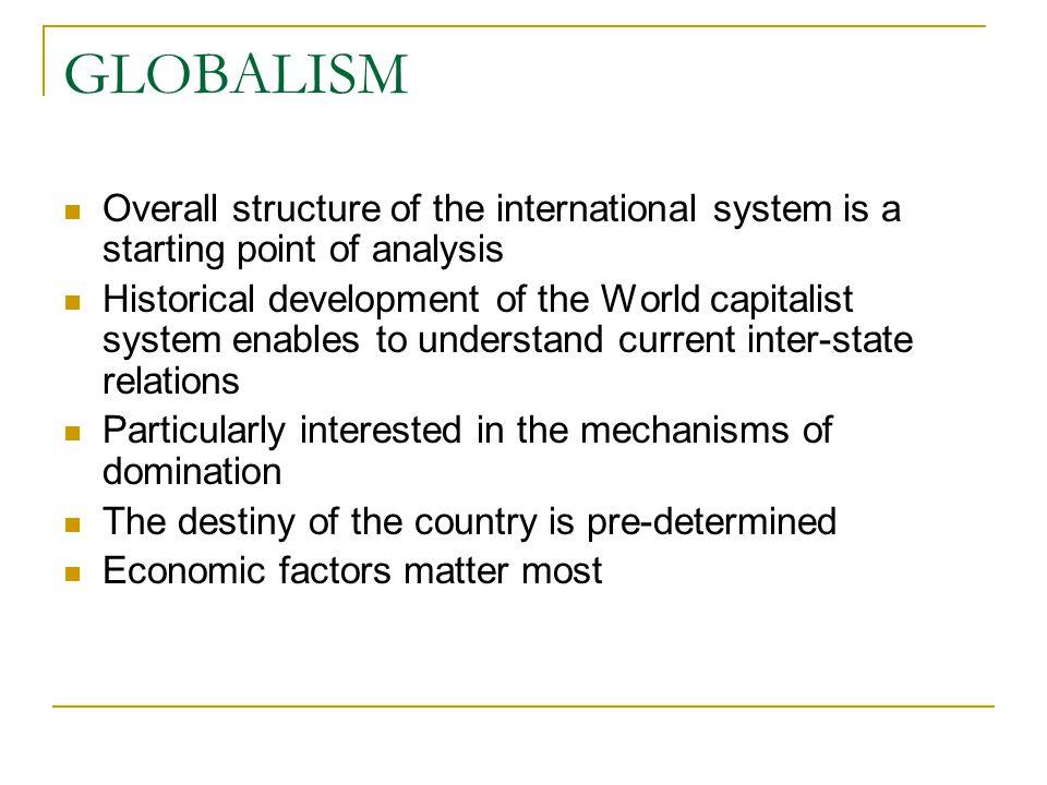 Essay of realism pluralism and globalism