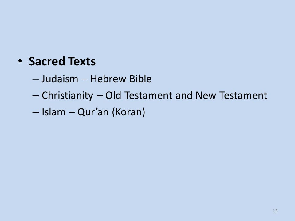 a comparison of the holy bible and the koran The koran vs the bible by john  the very origin of the koran was to refute the authority of the bible and reject the holy  there is no comparison .