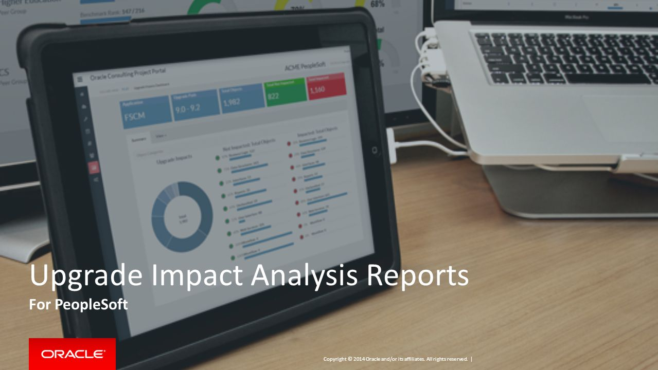 Upgrade Impact Analysis Reports