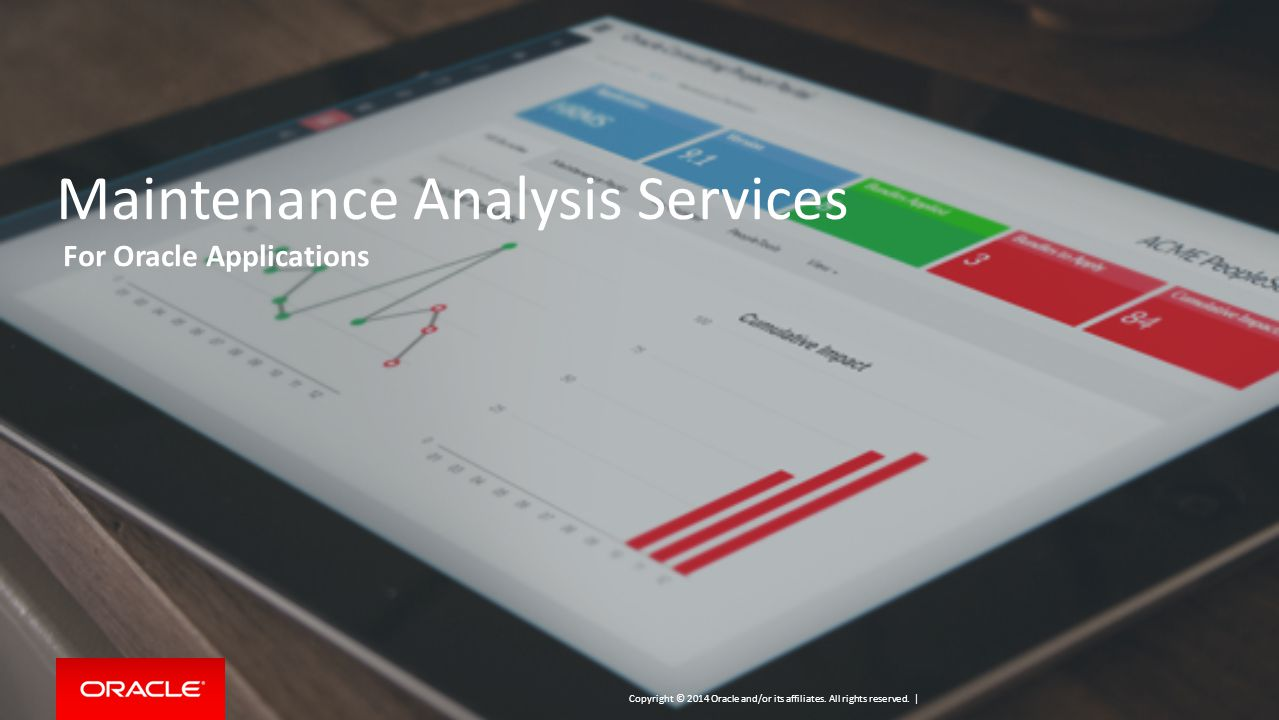 Maintenance Analysis Services