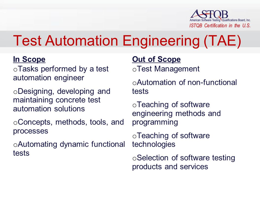 how to become an automation test engineer