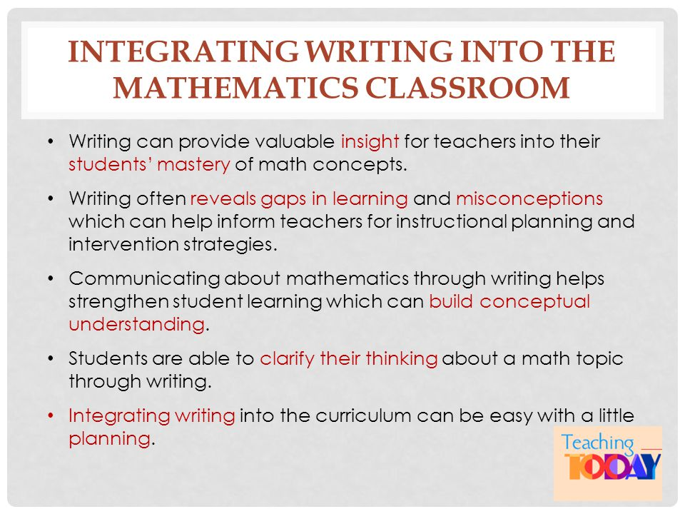 implementing technology in the mathematics classroom essay Implementing technology in the mathematics classroom essay - it has been over a decade now since we've been hearing from federal agencies, professional organizations and teaching accreditation agencies about the need to integrate technology into school curriculum.