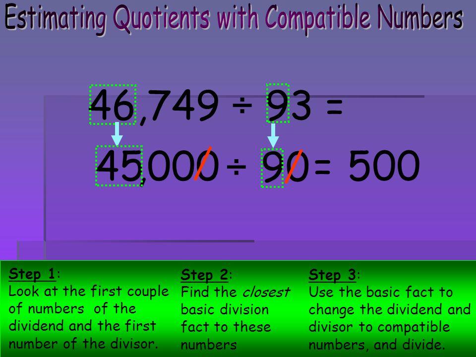 Estimating Quotients. - ppt video online download
