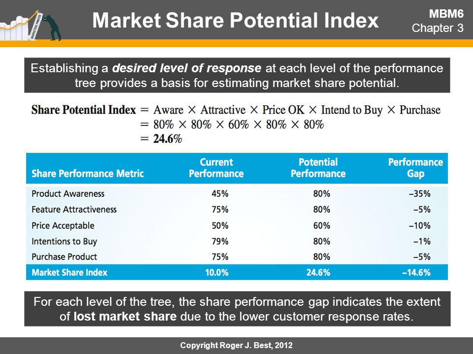 Market Share Potential Index