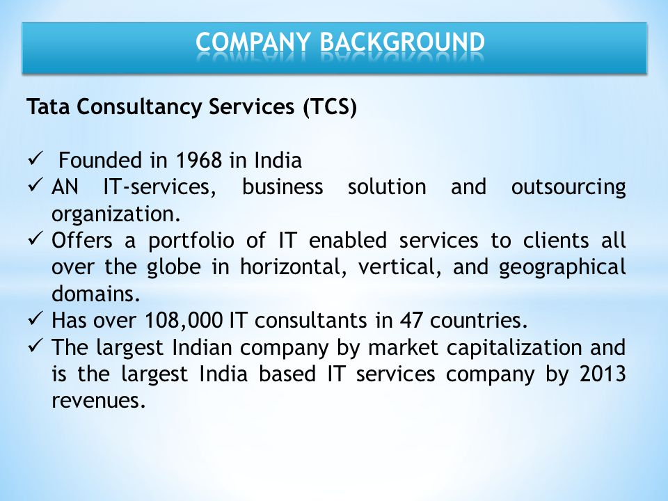 organisation culture at tcs Mumbai (maharashtra) [india], feb 13 (ani): leading consulting and business solutions company, tata consultancy services ltd (tcs), announced that it has been named as one of the top three employers in north america by the top employers institute, an independent organisation that certifies employers around the world for excellence in.