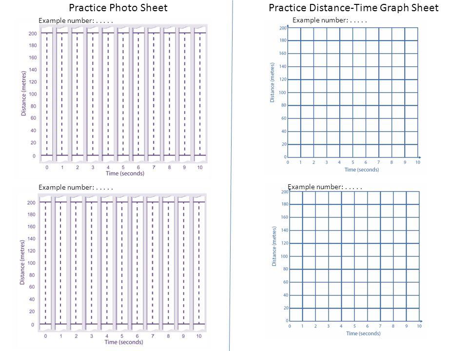 Standards Unit A5 Interpreting DistanceTime graphs with a – Interpreting Distance Time Graphs Worksheet