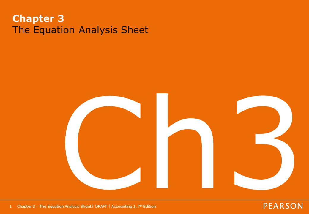 how to make an equation analysis sheet