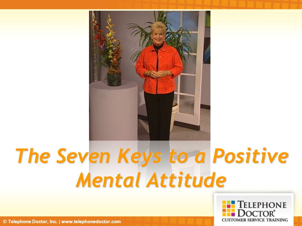 how to change mental attitude