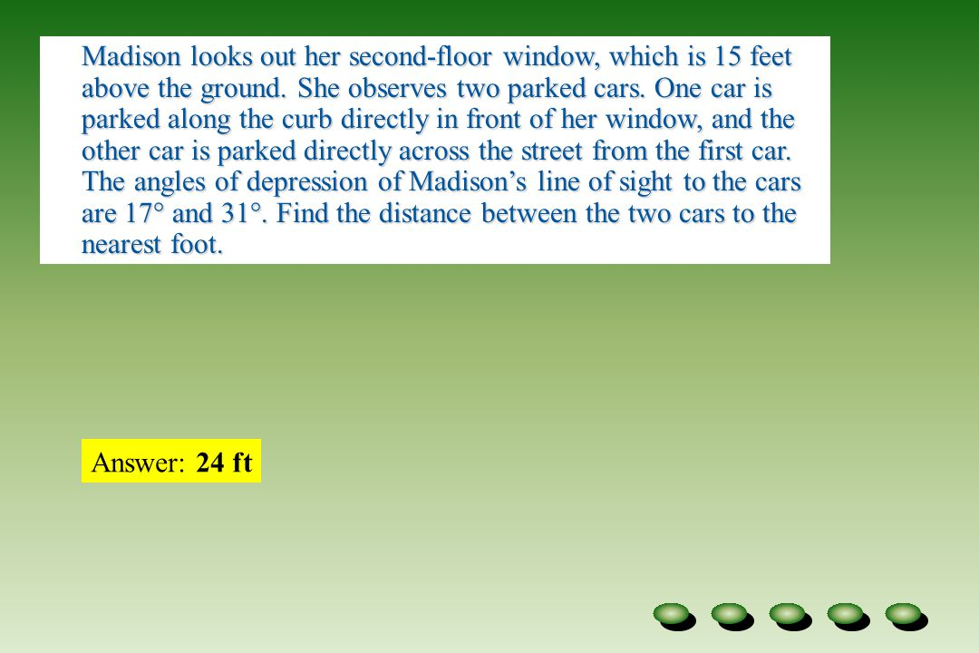 Word Problems Distance Between  Cars