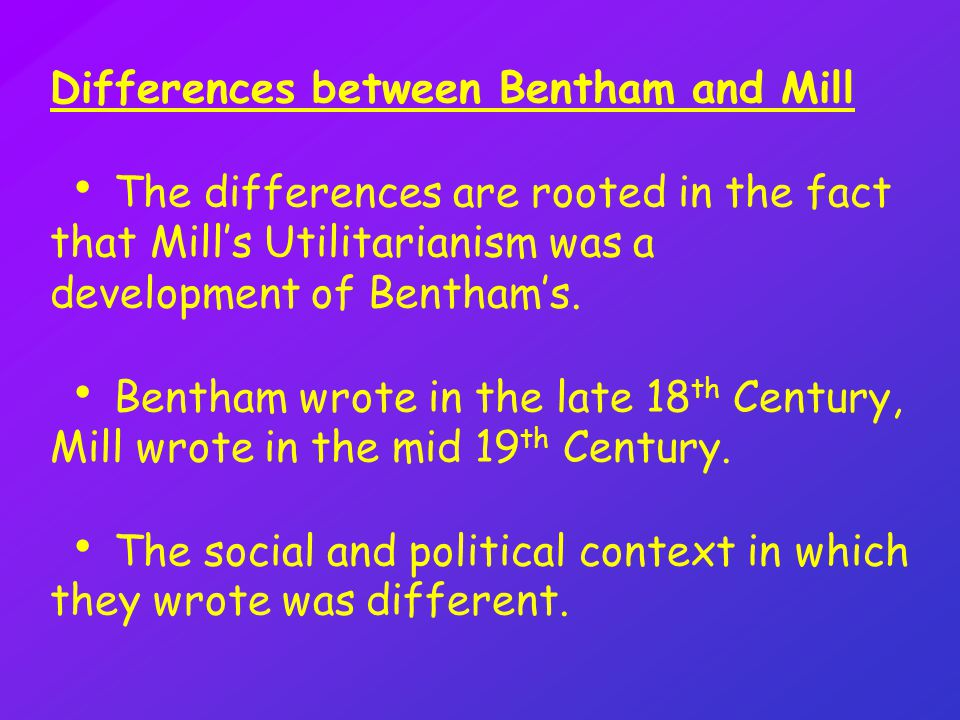 Difference Between Kantianism and Utilitarianism