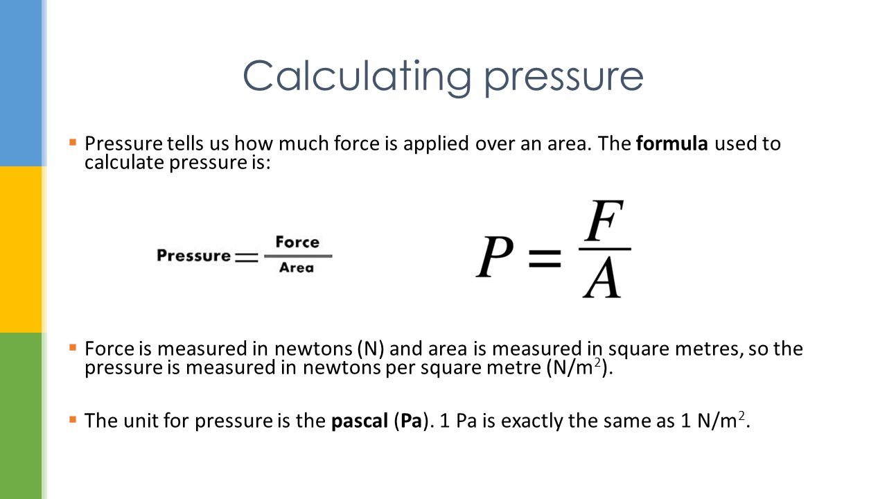Calculating Pressure Aseel Samaro Ppt Video Online Download