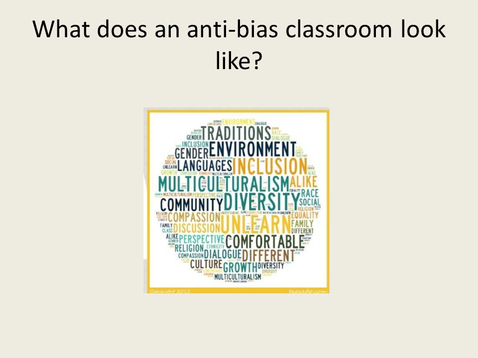 What does an anti-bias classroom look like