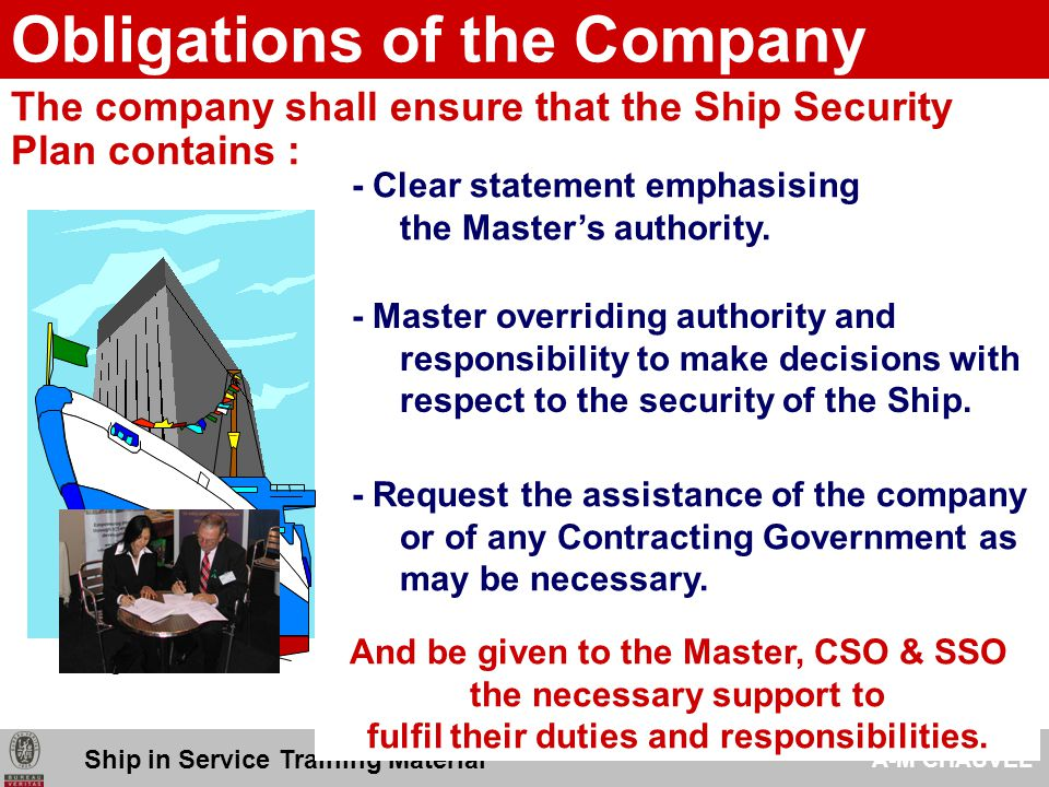 Obligations of the Company