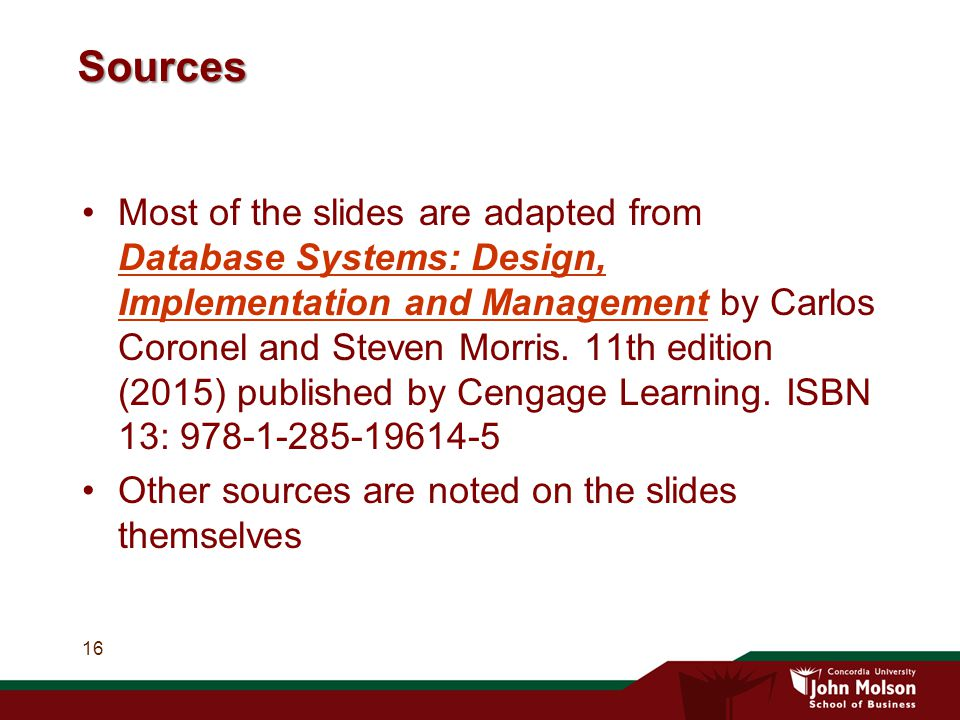 Btm 382 Database Management Chapter 1 Database Systems