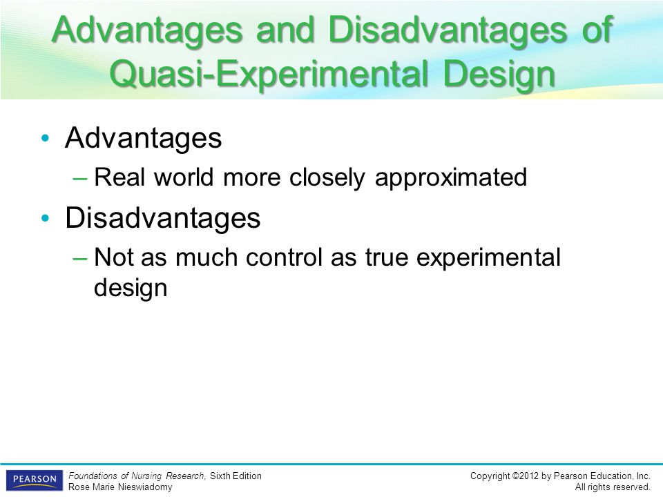 Advantages and Disadvantages of Quasi-Experimental Design