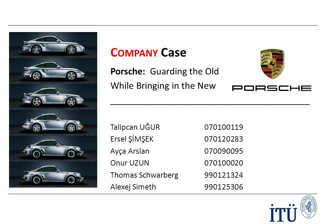 case study porsche guarding the old while bringing in the new The case a 72-year-old man with no prior medical history presents for evaluation of lowerread more featured job of the day emergency department medical director.