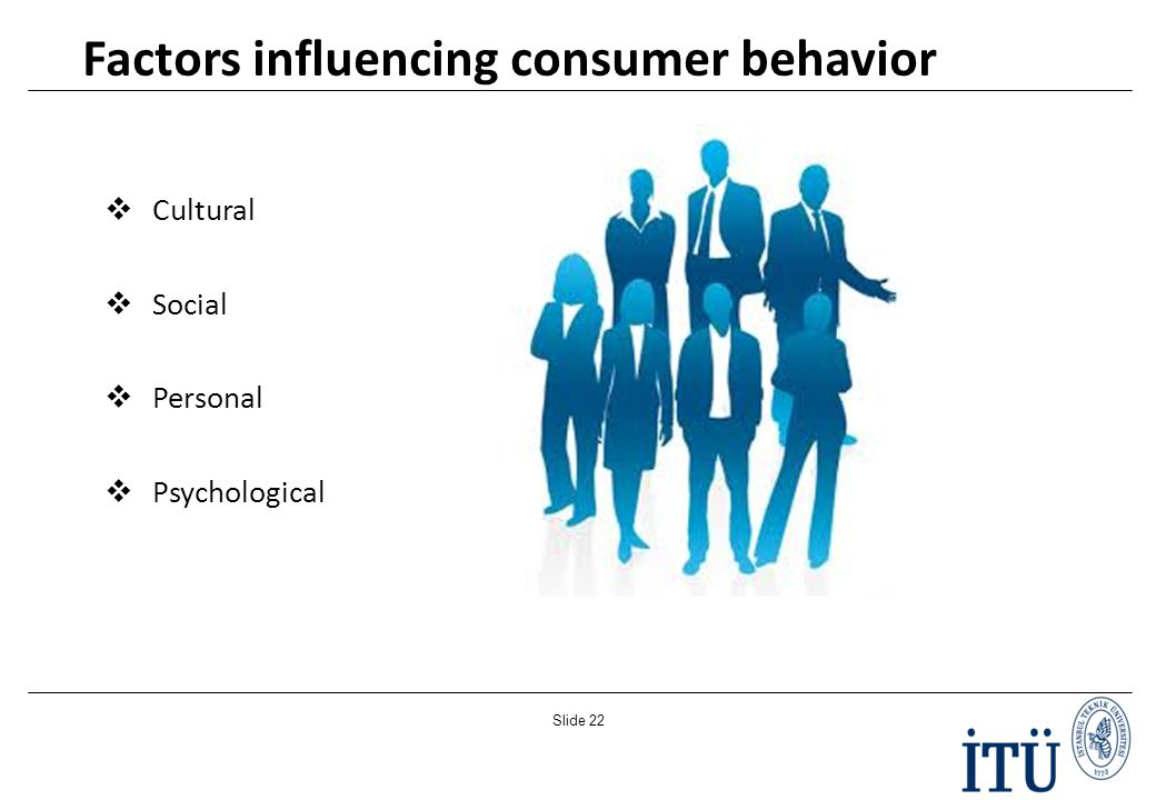 environmental factors influencing consumer behavior The influence of cultural factors on consumer buying behaviour and an application in turkey internal and external environment, they formulate their plans for marketing (khan, 2007: 1) marketer may influence their buying behavior but not control (durmaz, elik and oru , 2011.