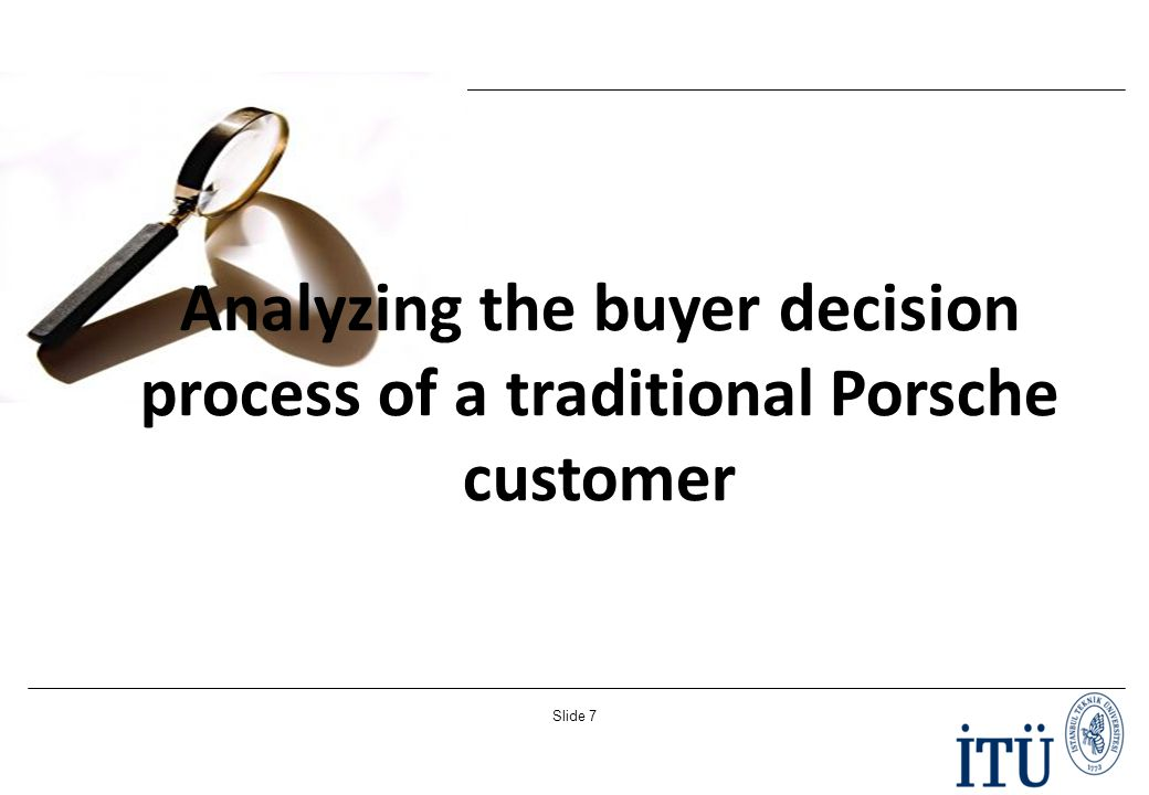 1 analyze the decision process buyers Consumer behavior: how people make buying  31 the onsumer's decision-making process  distinguish between low-involvement buying decisions and high.