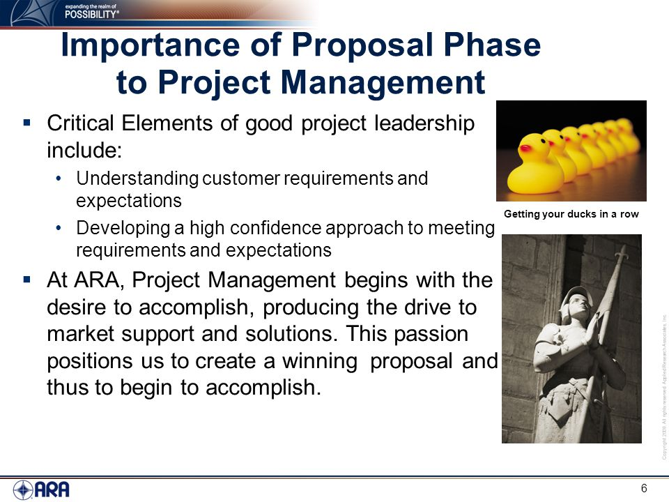 Introduction To Ara'S Proposal Resources Don Cole - Ppt Video
