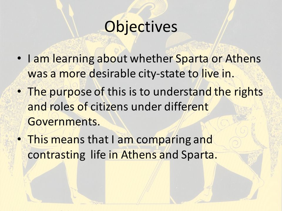 comparing and contrasting women in sparta A comparison between the women of modern society and of ancient times with respect to stress a literary research submitted.