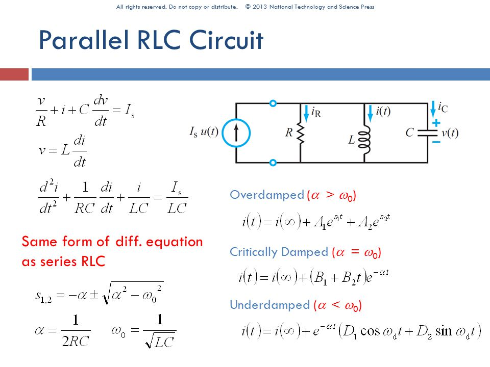 6. Circuit Analysis by Laplace - ppt download