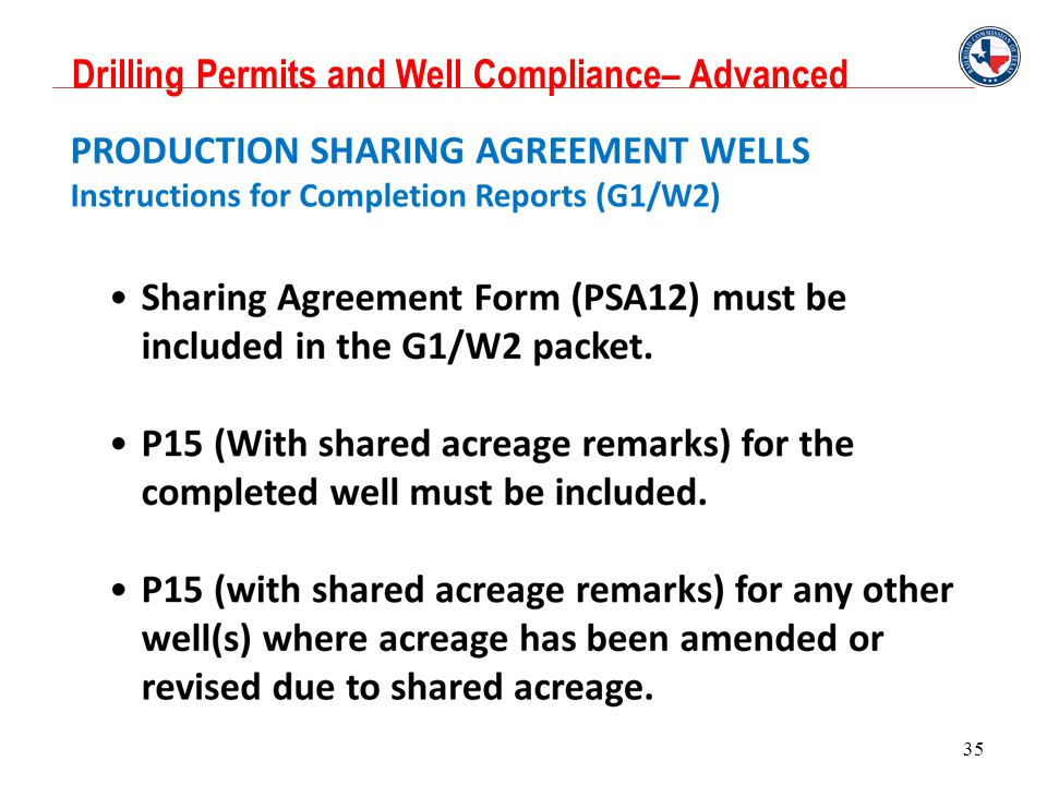 PSA Wells, Allocation Wells and Stacked Laterals Permitting and ...
