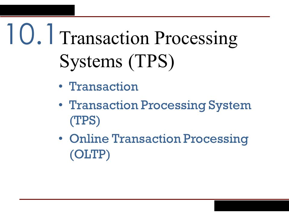thesis about transaction processing system Free essays tps - a transaction processing system tps - a transaction processing system 1462 words sep 16th, 2006 6 pages introduction transactions are the.