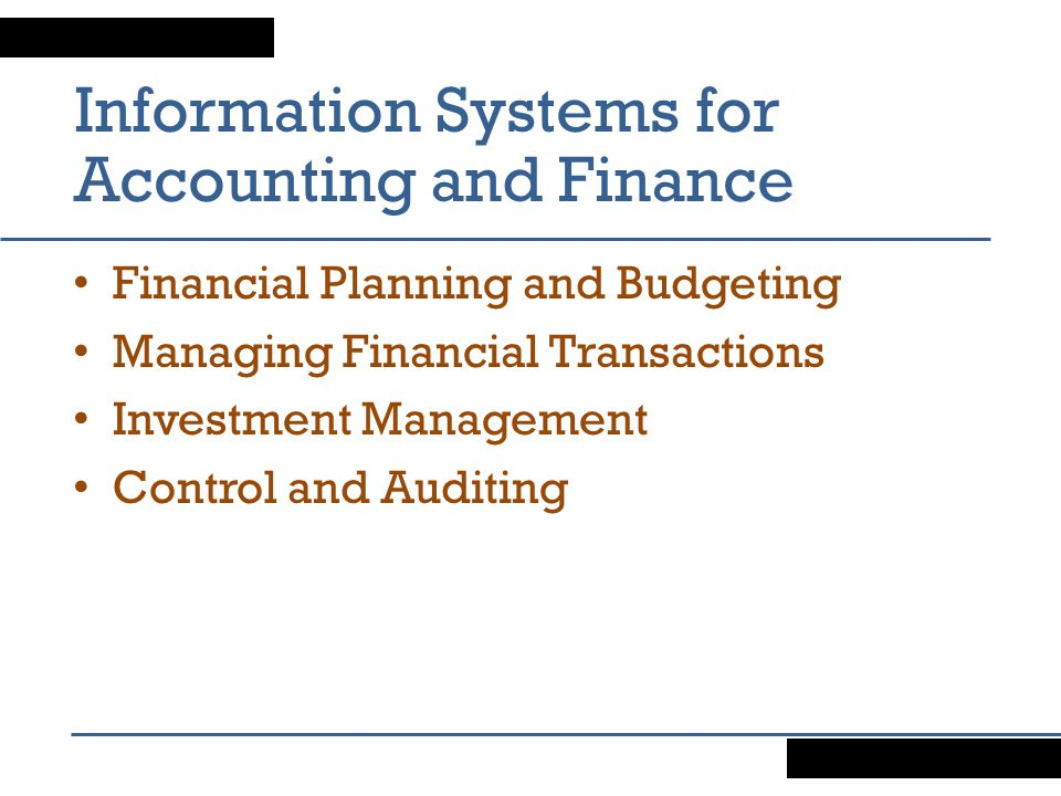 automation of accounting information systems The parts of development for payroll are with the time clocks and reporting of the statements to accounting and human resources a worker must clock in to an.