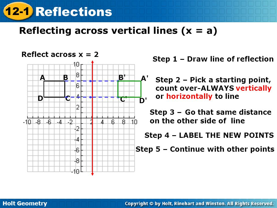 Drawing Lines Of Reflection : Introduction and review information ppt video online