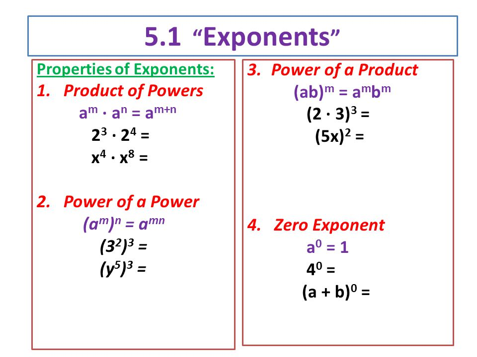 1.4 exponents and powers pdf