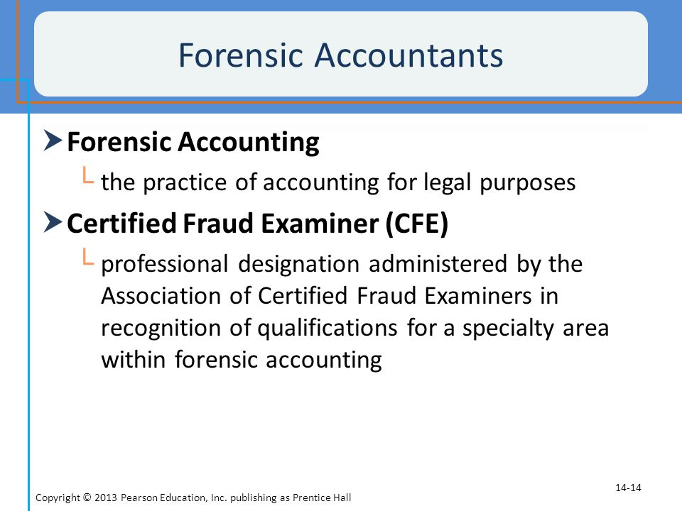 Forensic Accountants Forensic Accounting