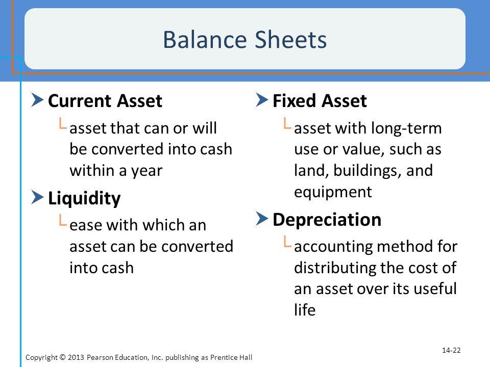 depreciation of fixed asset